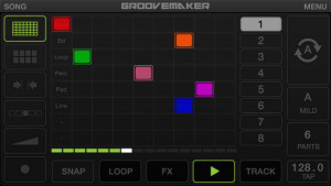 Groovemaker screen
