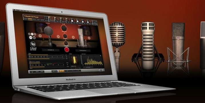T-RackS Mic Room professional studio Mac/PC mic modeling tool