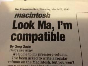 1st Edmonton Sun Article